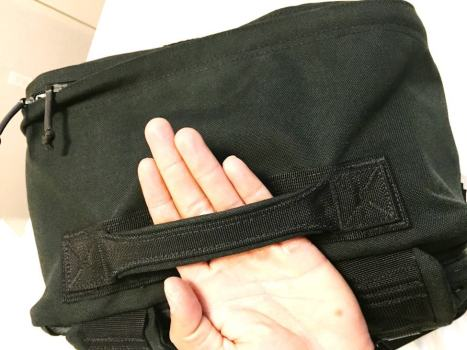 GORUCK GR3 padded top carrying handle tested to 400lb+ haul strength