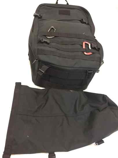 The GORUCK GR3 is lined on the bottom and front panels with heavy duty MOLLE webbing to attach...well...anything