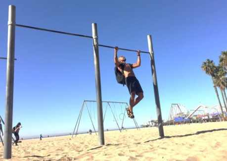Pull ups are one of the best exercises. Pull ups with a weighted ruck keep the challenge going as you improve