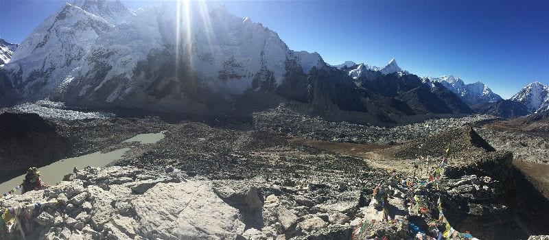 A view of Kala Patthar