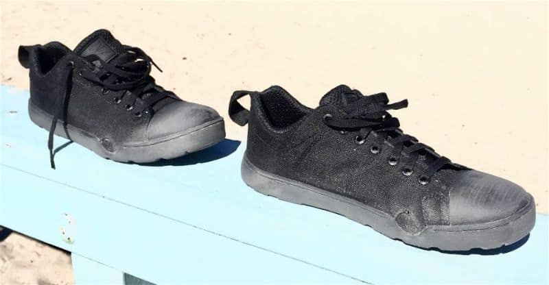 The low profile of the Grunt Style Low Tide Raid Shoes make them highly packable and light, weighing in at less than a pound
