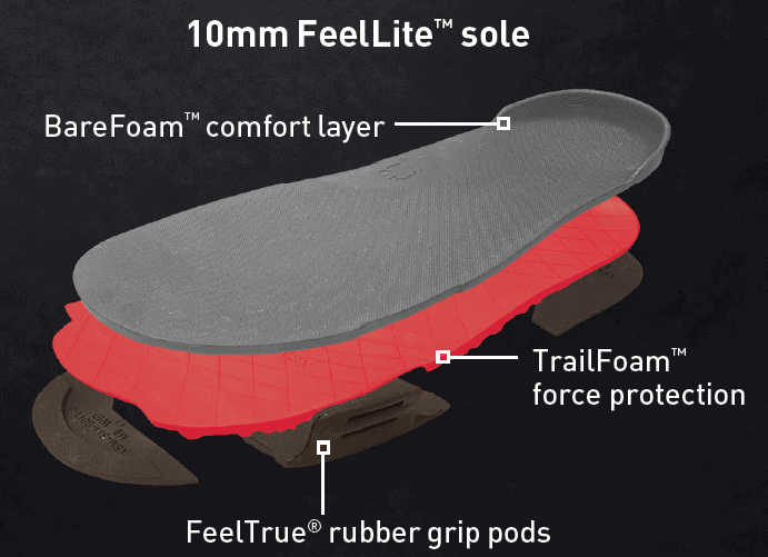 Z-Trail Feel True Soles