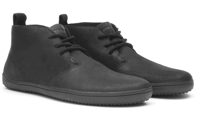 The Vivobarefoot Gobi II shoes are some of the best travel shoes for men because they look amazing and pack small