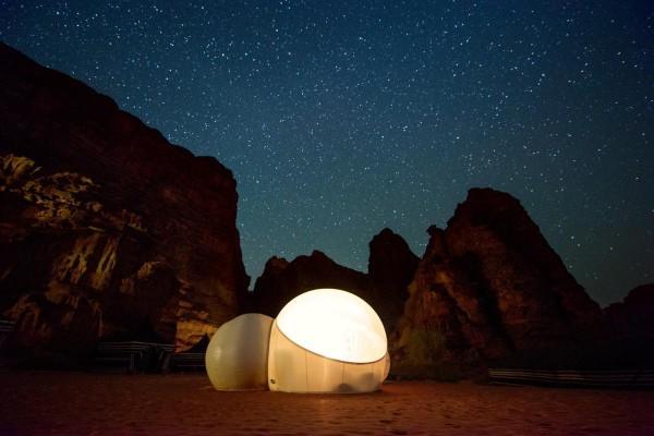 More luxurious Wadi Rum Accommodation