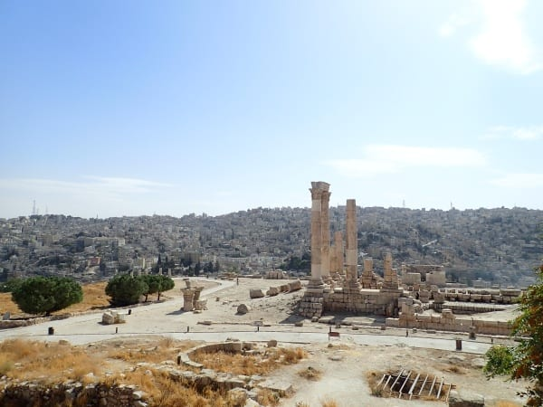 Amman Jordan and the Temple of Hercules