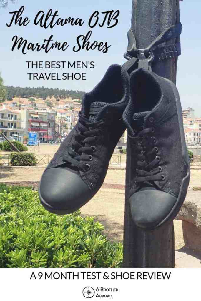 The Altama OTB Maritime Review: The Best Travel Shoe for Men, even after 9 months of testing, hiking, swimming, running, and traveling