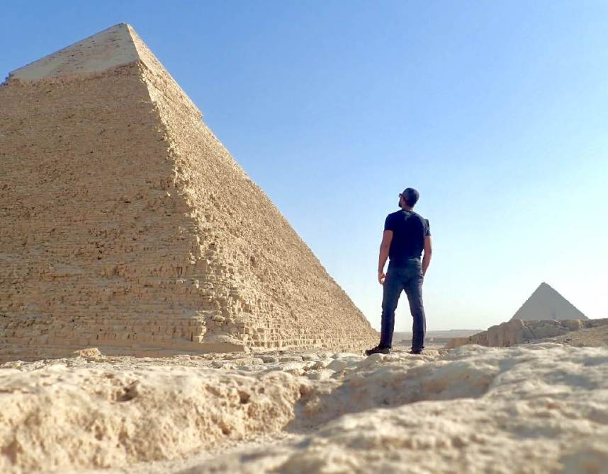 Visit the Pyramids - A Self Guided Egypt Pyramids Tour (Feature Image)