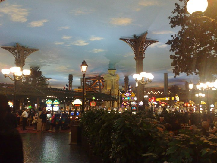 The Paris casino in Las Vegas