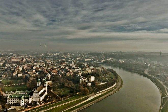 Krakow from above