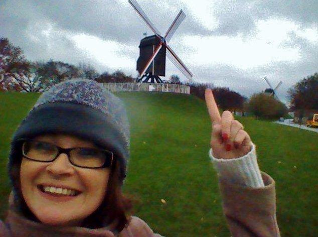 Windmills, Bruges, Belgium