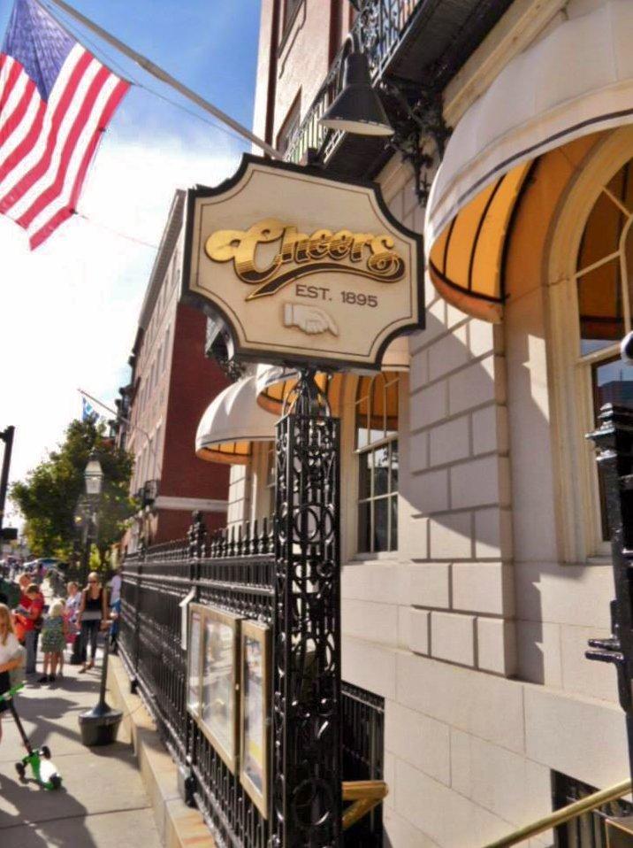 Cheers, Boston, Bull & Finch,  Beacon Hill