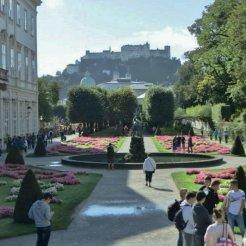 Mirabellgarten Salzburg.