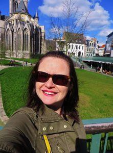 Selfie At Saint Nicholas' Church, Ghent.