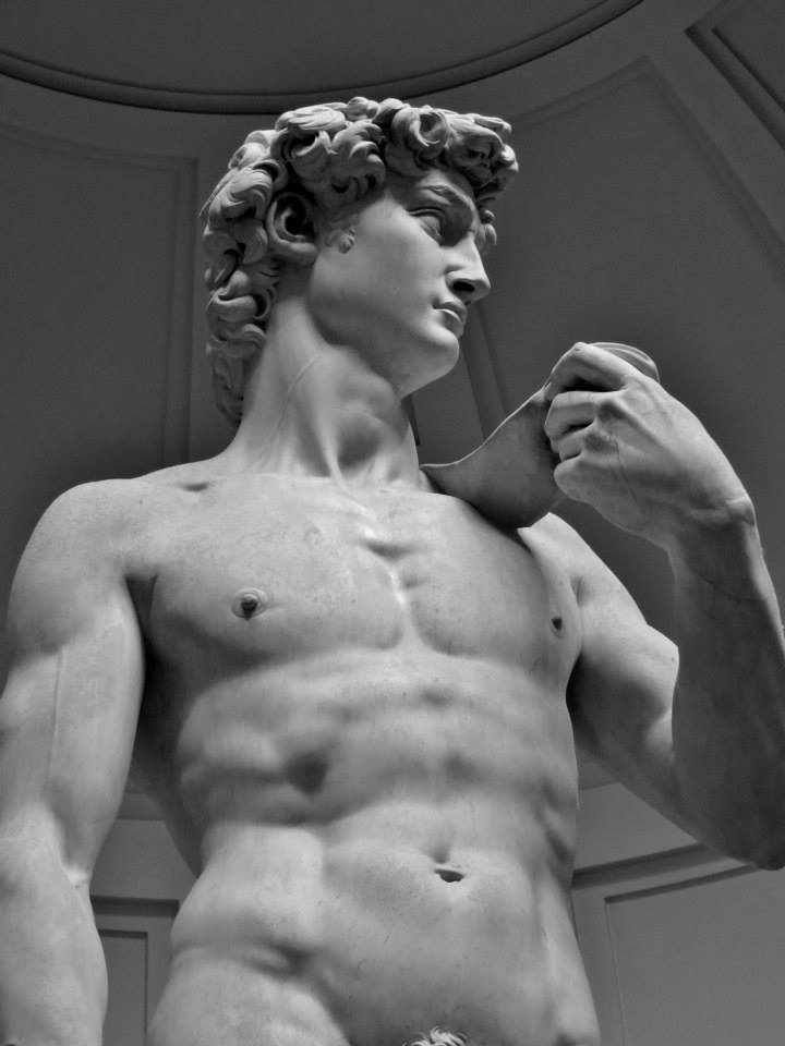 Michaelangelo's David, Galleria dell'Accademia, Florence