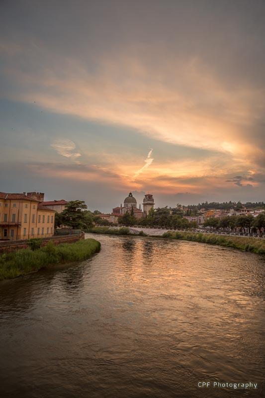 Verona sunset