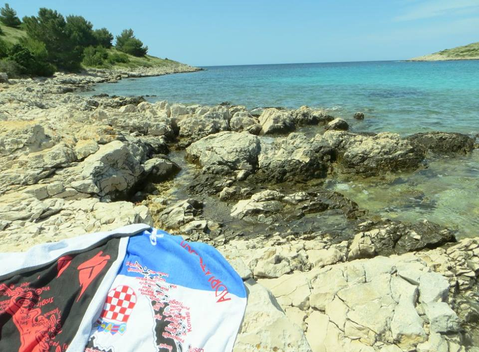 Wherever we lay our Croatian Beach Towels, that's our home...