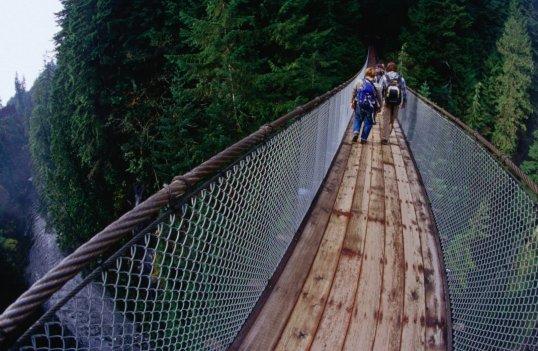 Capilano Suspension Bridge: All pics from Lonelyplanet.com