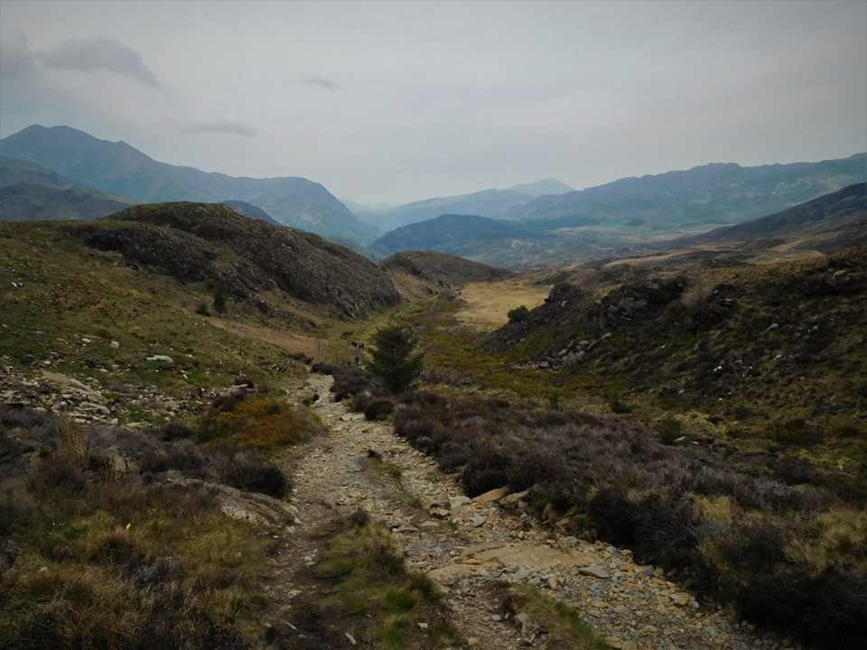 Hiking in North Wales - Cwm Bychan and Aberglaslyn Pass