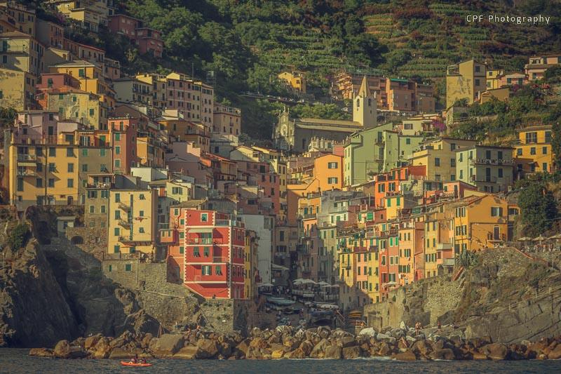 Riomaggiore, Cinque Terre - My travel menu dessert