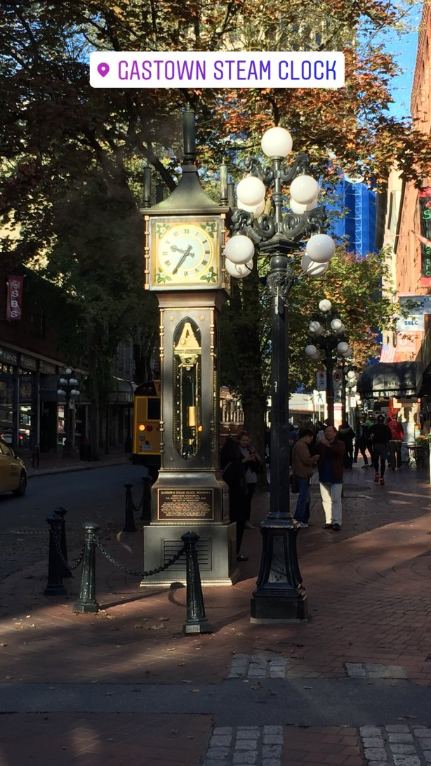 The Gastown Steam Clock