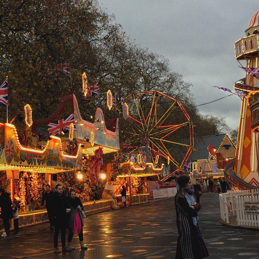 London's Winter Wonderland in Hyde Park