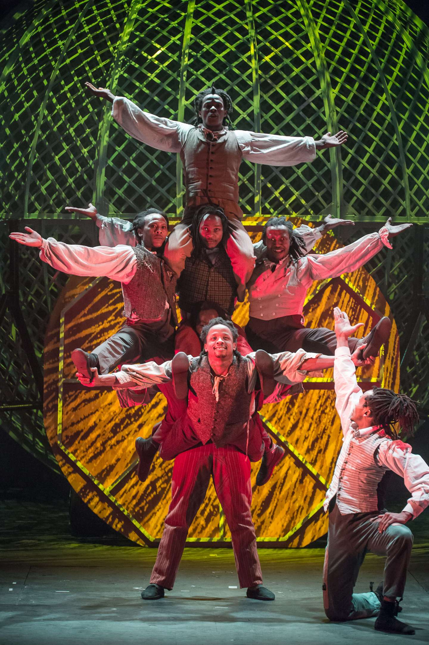 Cirque Berserk, celebrating 250 years of circus