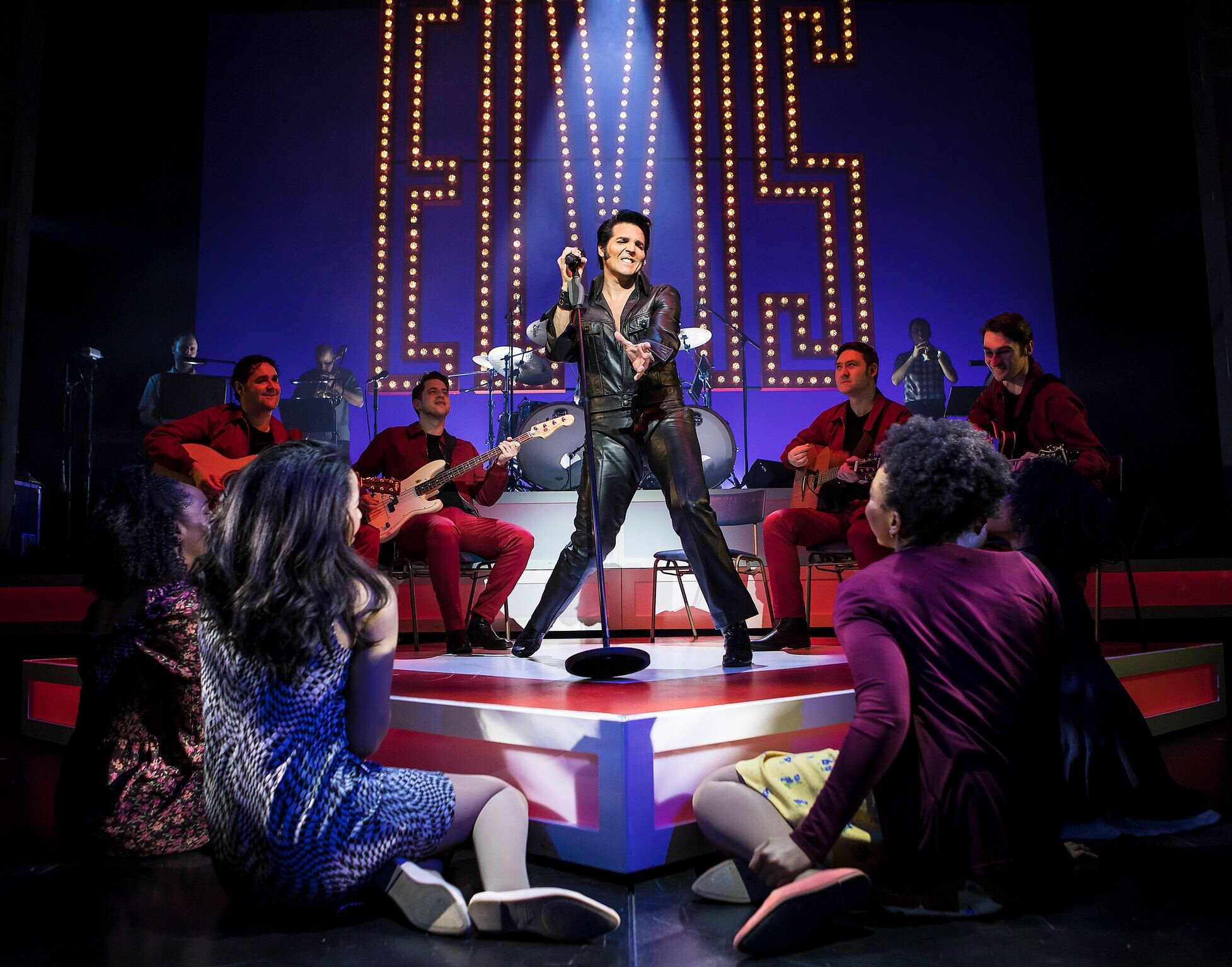 This is Elvis, New Alex Theatre, Official Photographs by Pamela Raith Photography