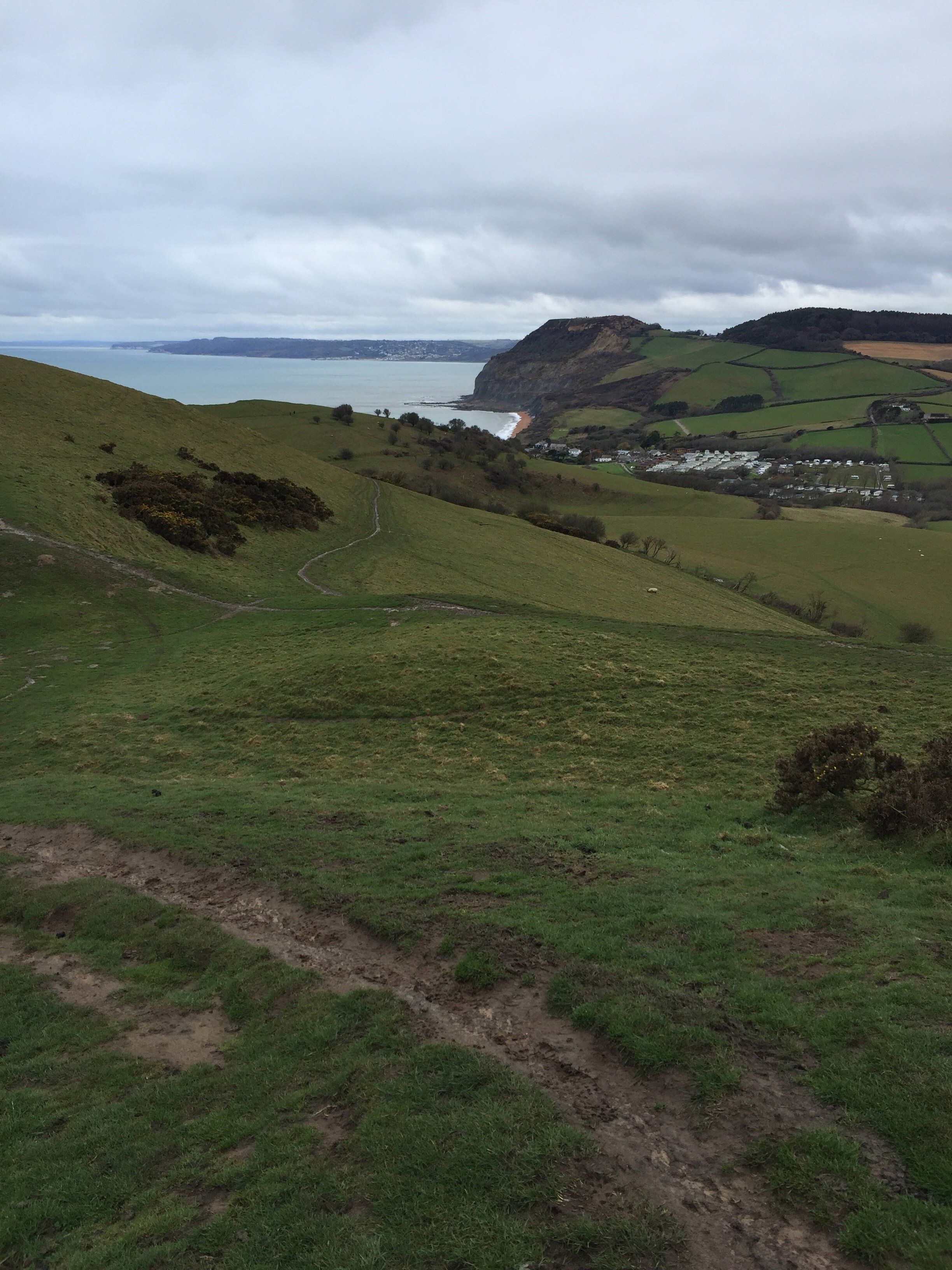 Looking back on how far we've come: Walking the South West Coastal Path walk