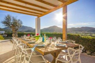 Villa, Ibiza, alfreso dining, table for 12