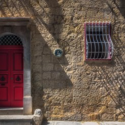 Colourful doors in Rabat, Malta