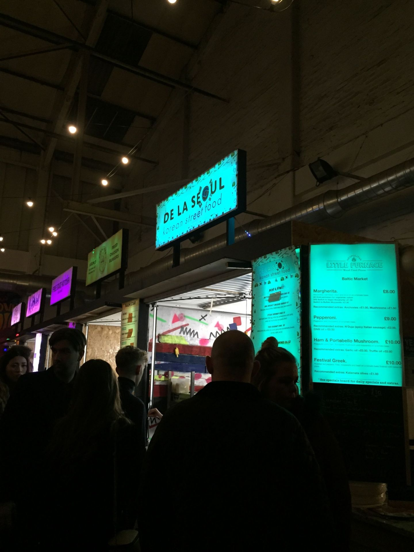 Where to Eat and Drink in Liverpool: Baltic Market