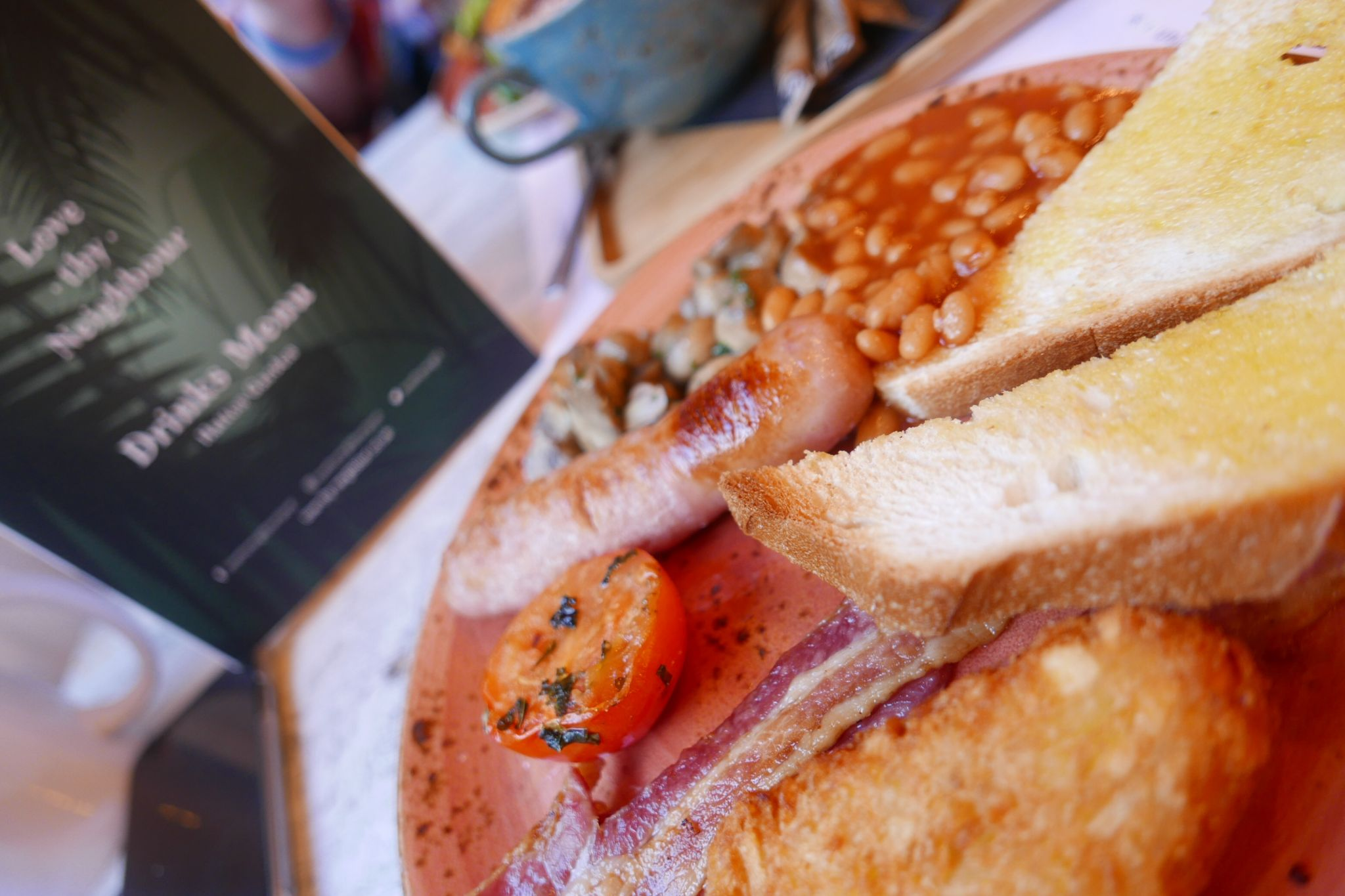 Where to Eat and Drink in Liverpool: Full English Breakfast at Love Thy Neighbour