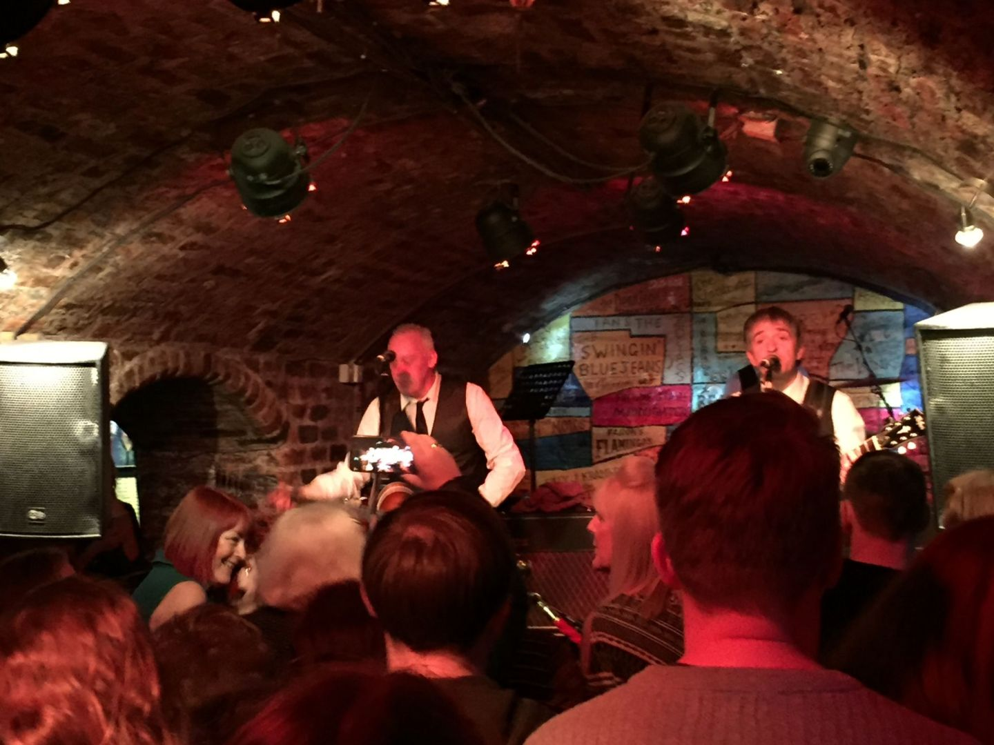 Liverpool Beat, band at the Cavern Club Liverpool