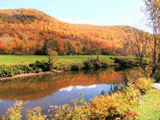 A cacophony of colour In Vermont