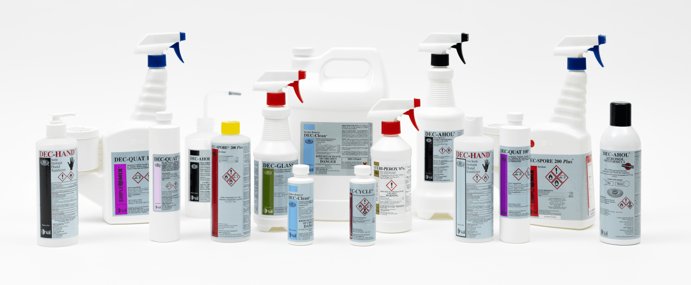 A range of products for cleanroom contamination control by Veltek.