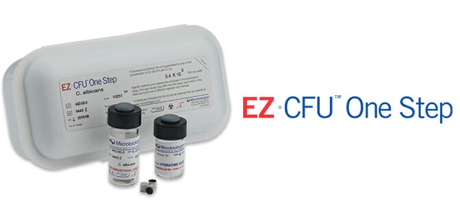 EZ CFU one step for growth promotion testing of microbiology media.