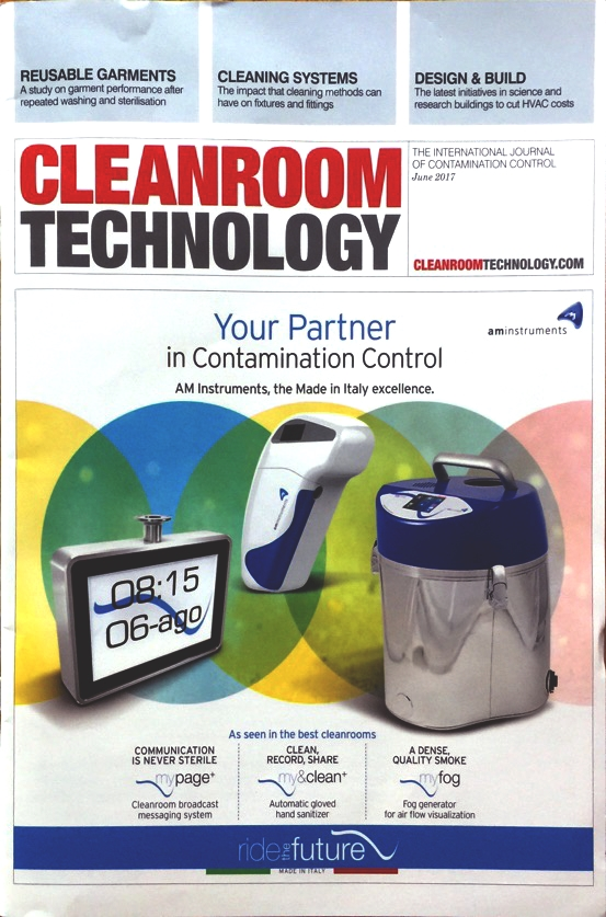 Cleanroom Technology Front cover