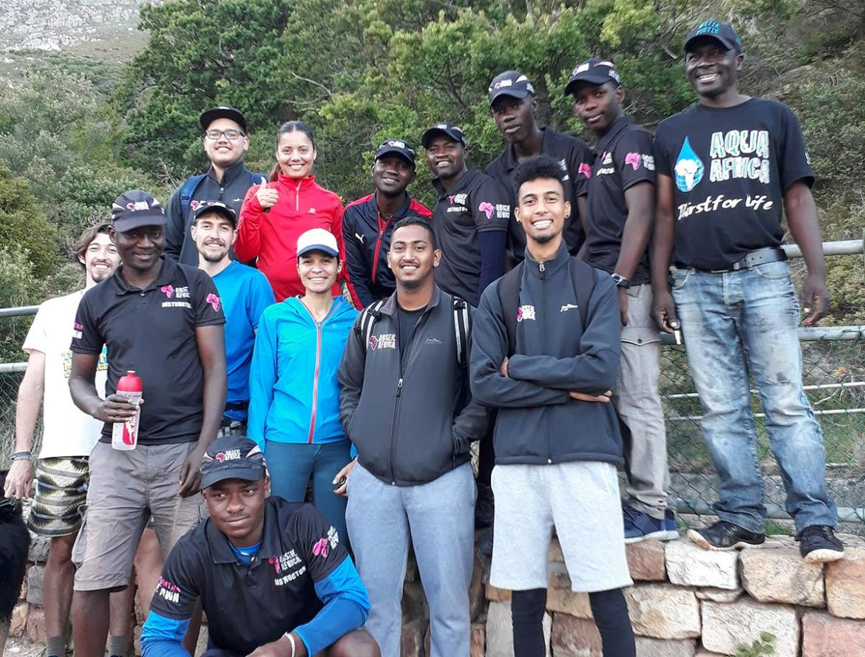 Abseil Africa Team