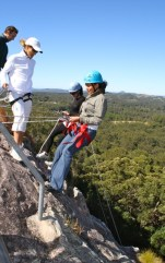 Abseiling - Edge of Cliff - Double