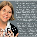 """You've got to read this. """"Nobody in this country got rich on his own. Nobody."""""""