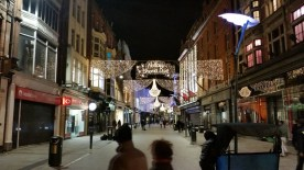 Grafton Street ready for Christmas.