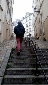 Beware. Montmartre = stairs.