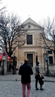 The church where the Jesuit order was founded.