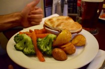 And steak and ale pie. Probably good I can't eat this everyday.