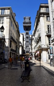 The Santa Justa Lift was designed by a student of Gustave Eiffel.