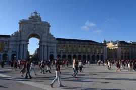 The Praça do Comércio