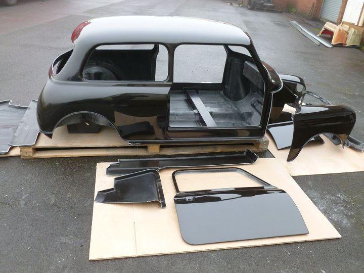 Mini Sprint Body Shell Kit Carbon Fibre Composite Kit Abs