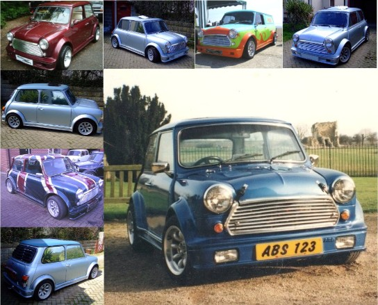 Turbo Replica Mini Body Kit