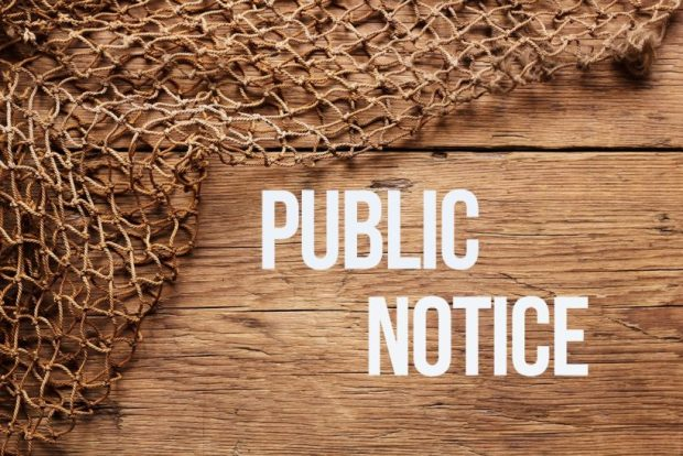 Public Notice: Section 56(7) Planning Act 2008