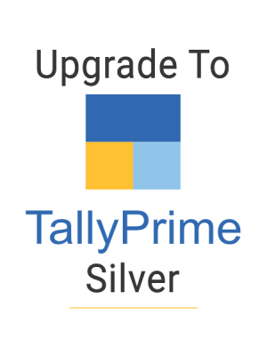upgrade to tally prime silver